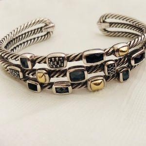 58e2bd771a5a5 David Yurman Confetti SS Cuff Bracelet